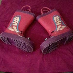 Girl's rain boots